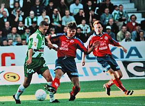 Fotboll allsvenskan 1998 06 15
