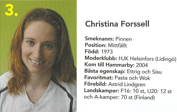 Christina Forssell